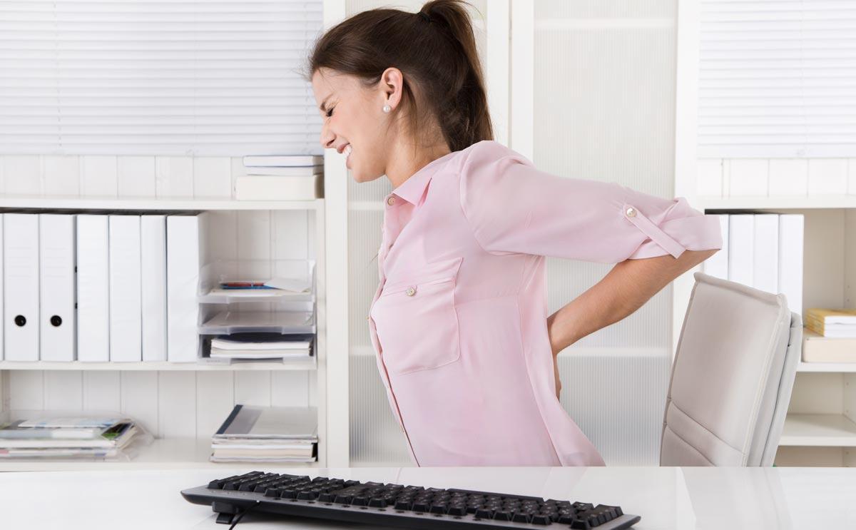 Ergonomie am Arbeitsplatz ist wichtig für die Gesundheit